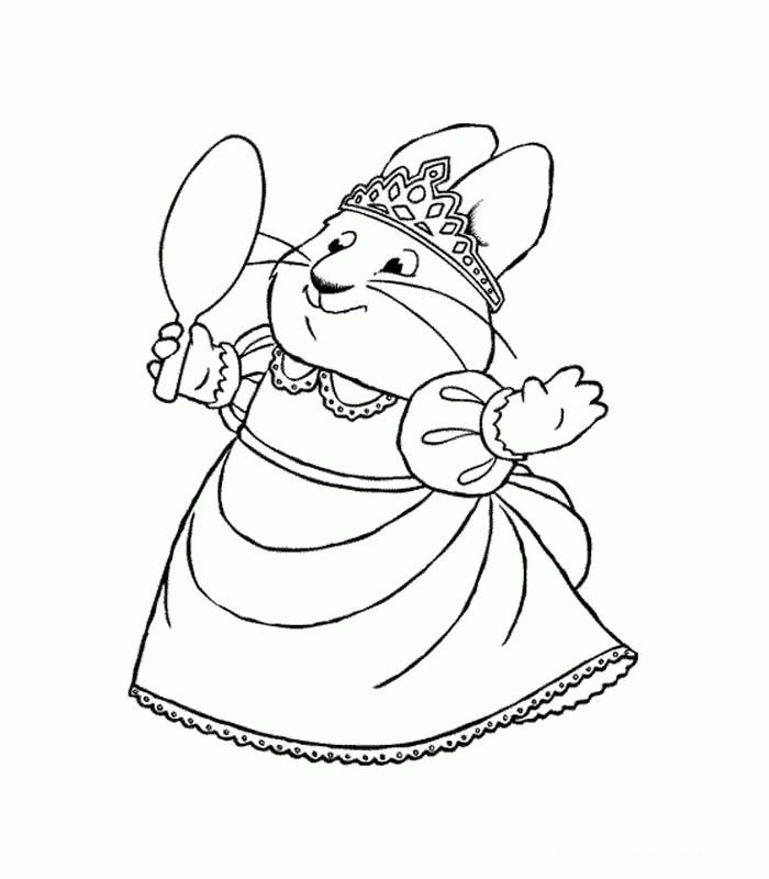 max and rubi coloring pages - photo#16