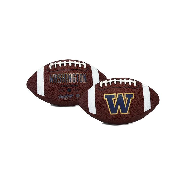 Rawlings Washington Huskies Game Time Football, Purple