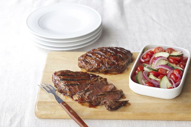 Biftecks grillés à la Sud-ouest