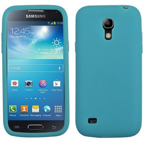 MYBAT Solid Skin Cover Case for Samsung Galaxy S4 Mini - Tropical Teal