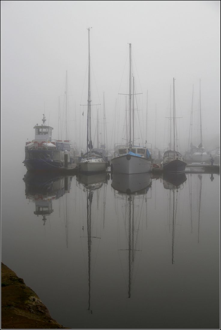 Misty Ipswich Docks.. through the eyes of RhodieIke