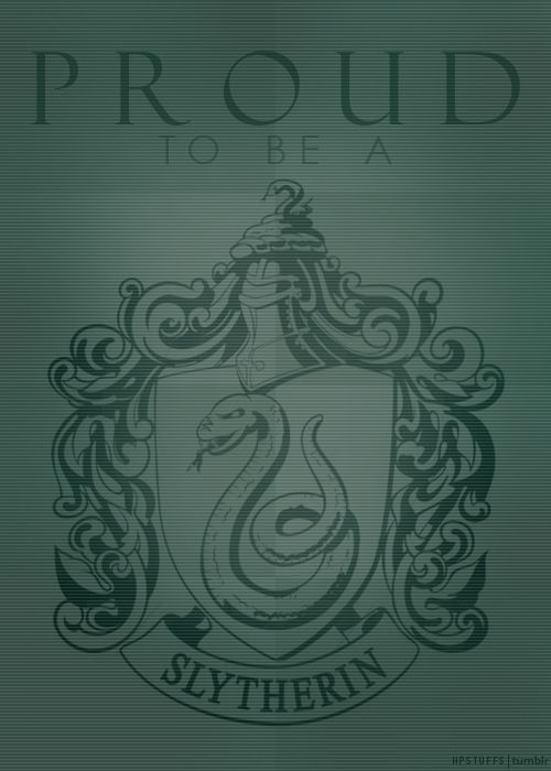 Slytherin Pride (I'm Ravenclaw  - pinning for my Slytherin followers!)