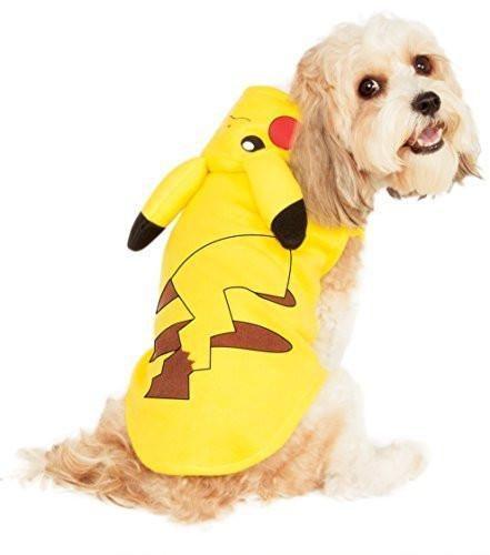 Pokemon Pikachu Dog Hoodie Costume