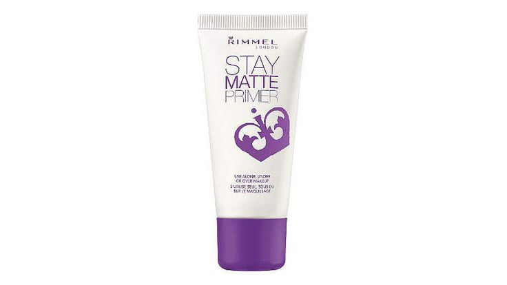 Rimmel Stay Matte Primer | We asked makeup artists to share the drugstore beauty finds they can't live without.