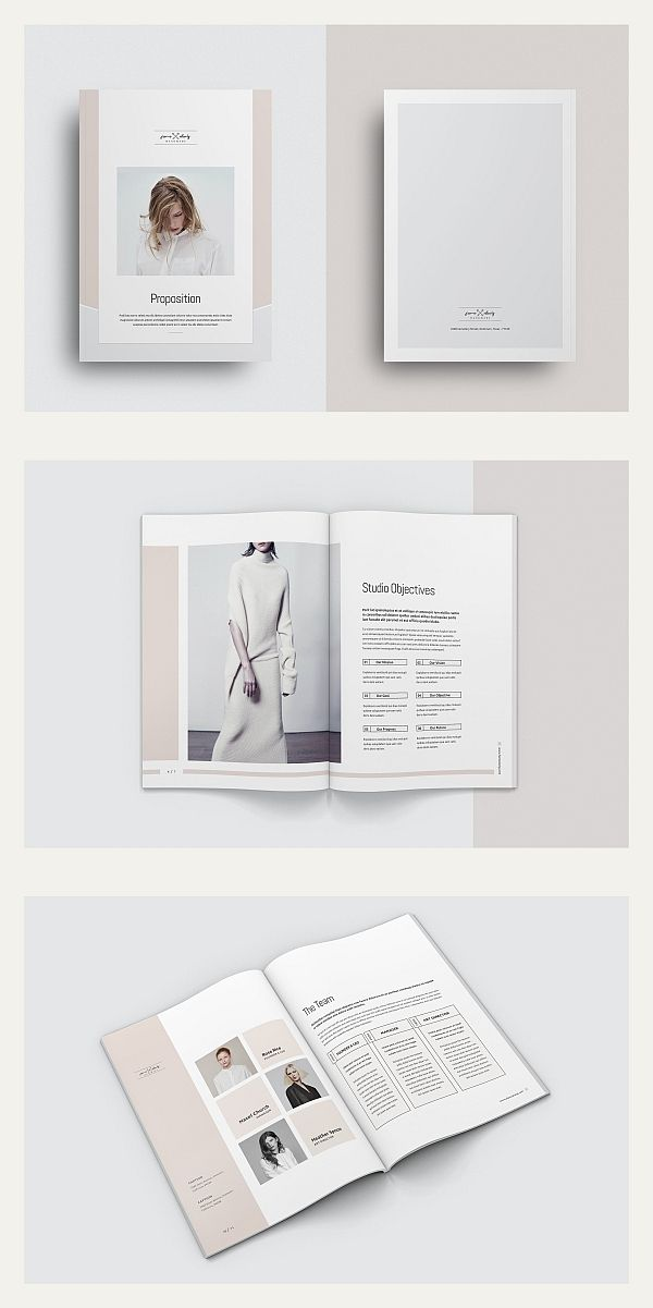 Proposal Brochure Template Indesign Templates