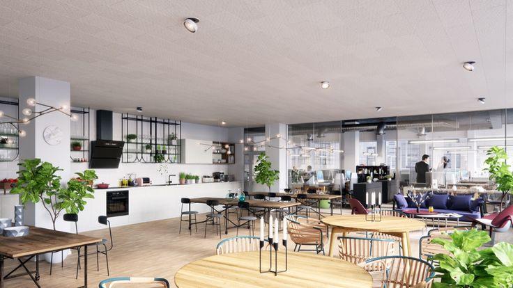 DN, Kitchen, Paus Area Stockholm, PS,  Interior design, Scandinavian design, 3D visualisation, render, archive, PS, 3Ds Max, modern design, styling