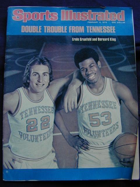 Ernie and Bernie showBasketbal Games, Basketball Games, Athletic Ctr, Stokes Athletic, Bernards King, Seasons Ticket, Ut Volunteers, Ernie Grunfeld