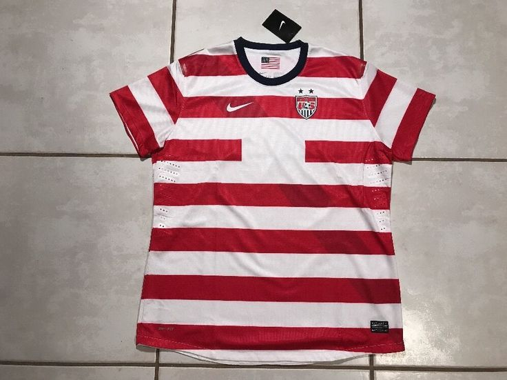 NWT NIKE USA National Team WALDO Soccer Jersey Women's Medium  | eBay