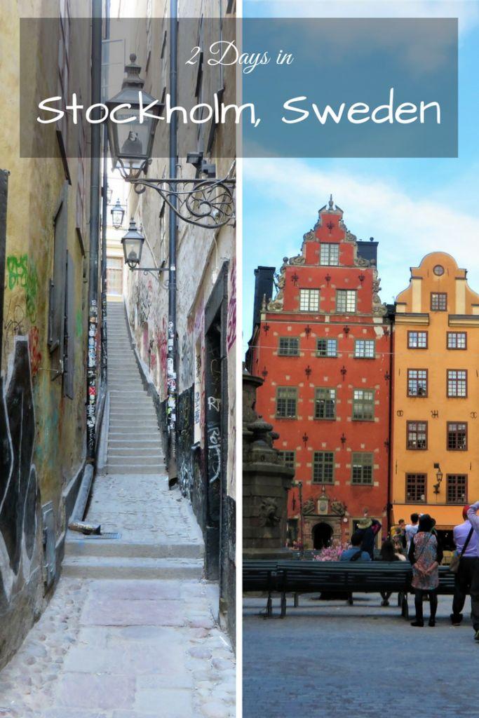 Two Days in Stockholm Sweden