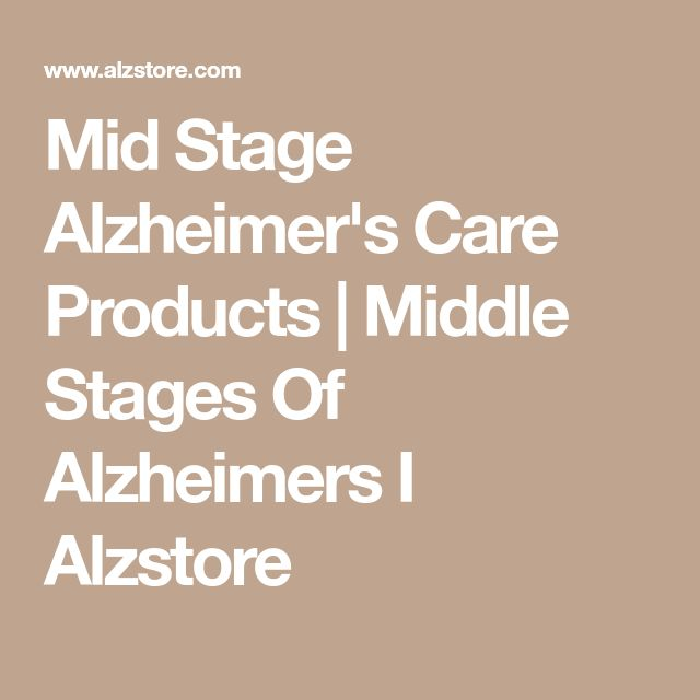 Mid Stage Alzheimer's Care Products | Middle Stages Of Alzheimers I Alzstore