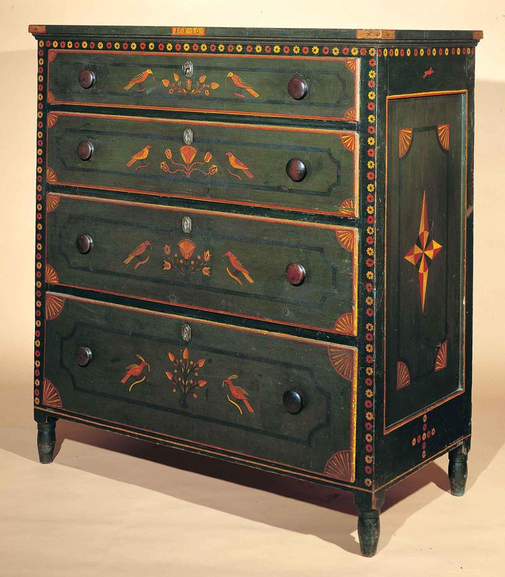 Chest of Drawers Probably Johannes Mayer