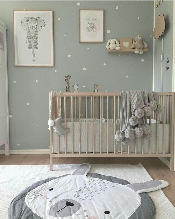 Bärenteppich, Babyzimmer #scandinave #douceur – # bébé #Chambre #douceur #sca