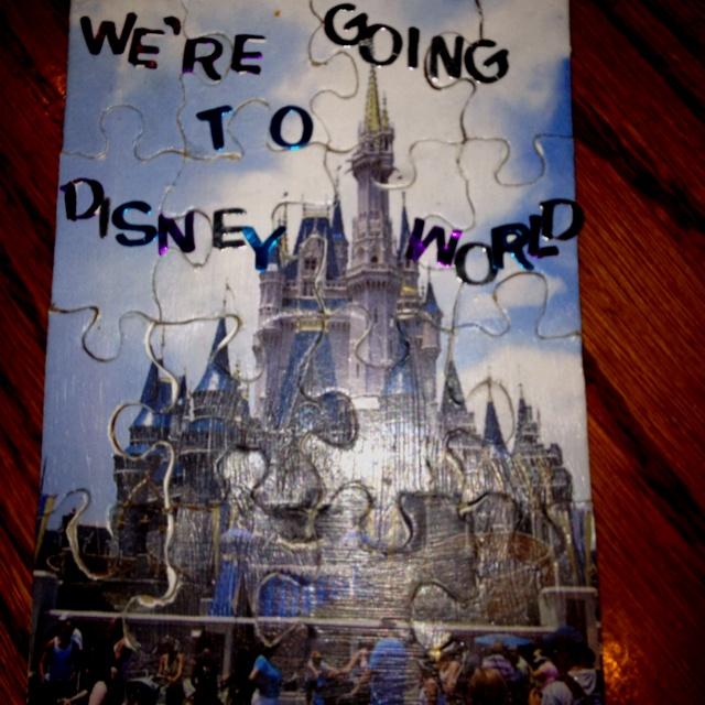 Disney Trip Announcement A Puzzle Of Cinderella S Castle