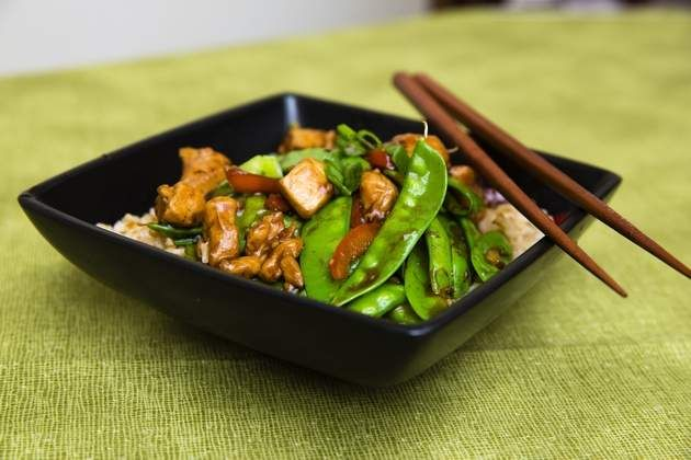 Turn up the heat with Stir-Fried Chicken and Snow Peas. Stir-frying veggies keeps them bright and crisp and lets their natural flavors shine.
