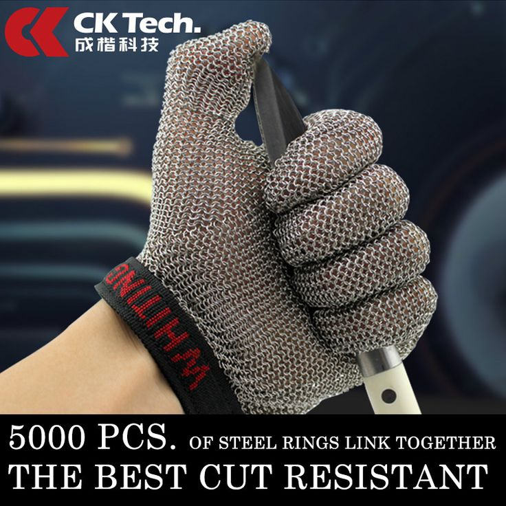 ==> [Free Shipping] Buy Best Stainless Steel Wire Safety Gloves 1 Pcs Cut Resistant Metal Mesh Butcher Anti-cutting Proof Protect Breathable Work Gloves 501 Online with LOWEST Price | 2044325240