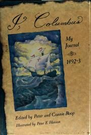 Cover of: I, Columbus by Christopher Columbus (in TAL)