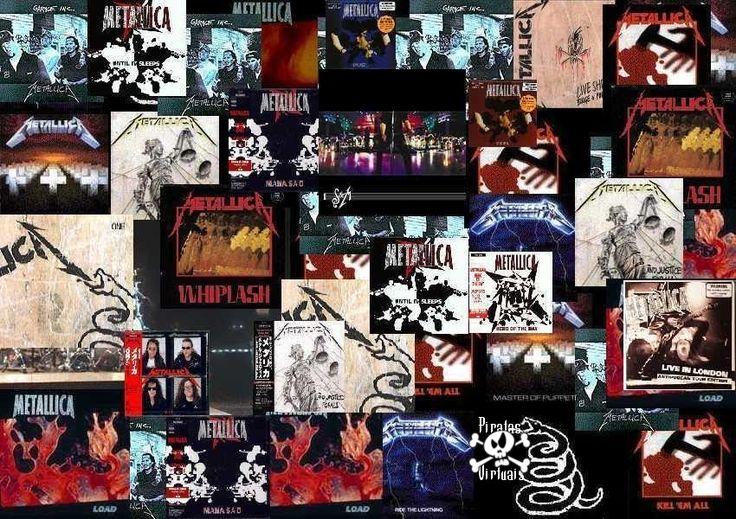 Resultado de imagem para metallica discografia
