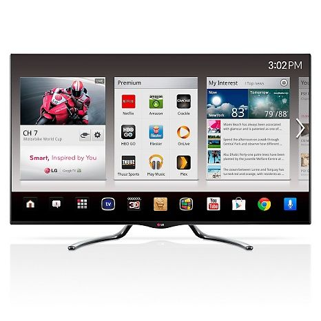 "LG 50"" LED Smart Google 3D HDTV w/QWERTY Magic Remote"
