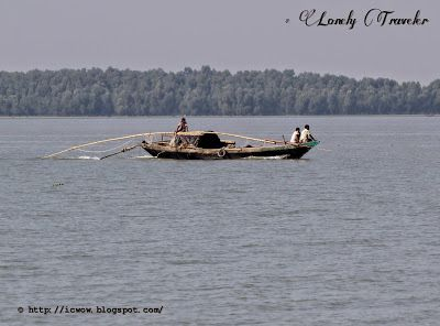 Fishing boat in Bay of Bengal. It was during the camping trip in Southern part of Bangladesh. These are very cheap boat and requires plenty of manual labour.