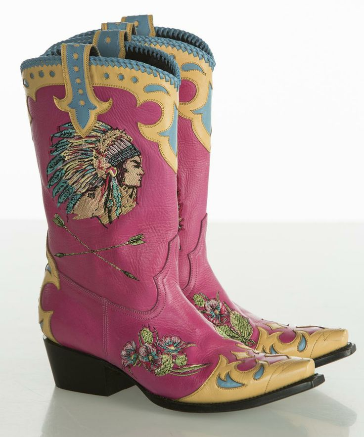 Retro Rodeo Boots by Double D Ranch, made by Lane Boots
