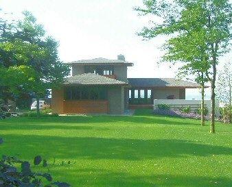 prairie style house | pioneered by frank lloyd wright prairie style houses revolutionized ...