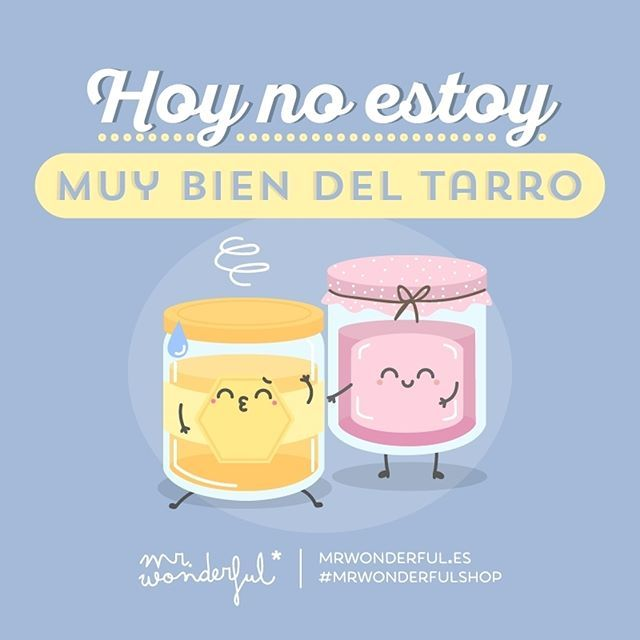 ¿Será que es viernes? #mrwonderfulshop #felizviernes  My head is not in the right place today. Could it be because it is Friday?