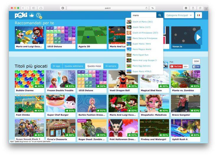 Poki una piattaforma di giochi online a portata di browser