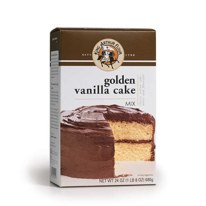 Golden Vanilla Cake Mix: one of the best according to The Kitchn website.