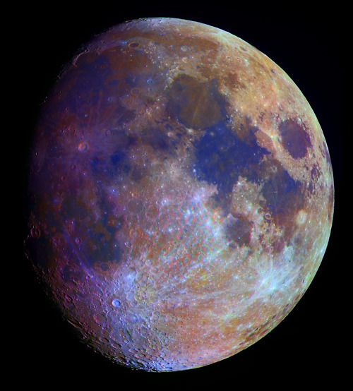 The moon has always intrigued me; not for itself, but for what it does to the ocean's tides and emotional pulls in human beings and animals, its role in harvests, etc...