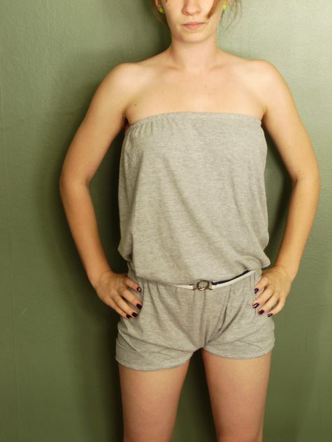 1-hour romper, make it from a pillowcase or an XL t-shirt!