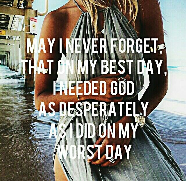 my worst and best day