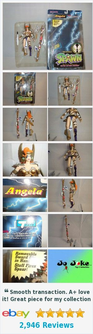 SPAWN-ANGELA-SPEARHEAD LAUNCHES-SWORD-HIGHLY DETAILED-TODD TOYS-1995-LOOSE-NEW  | eBay