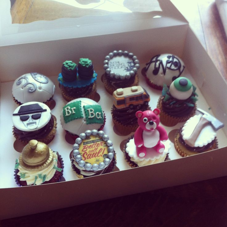 Breaking bad cupcakes from Laura's little bakery in Liverpool