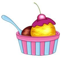 And Clip Cake Cream Ice Birthday Art