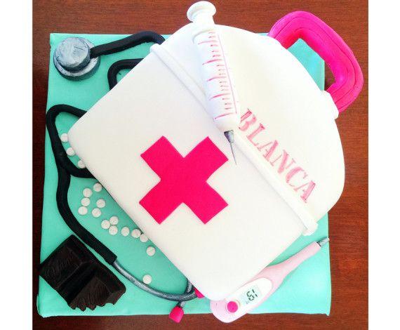 Tarta de maletín de enfermera