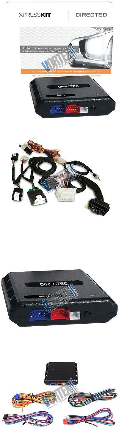 Other Car Alarms and Security: Directed Dball2 Remote Start W Thchd3 T-Harness Pts/Key-Type Chrysler Dodge Jeep BUY IT NOW ONLY: $81.6