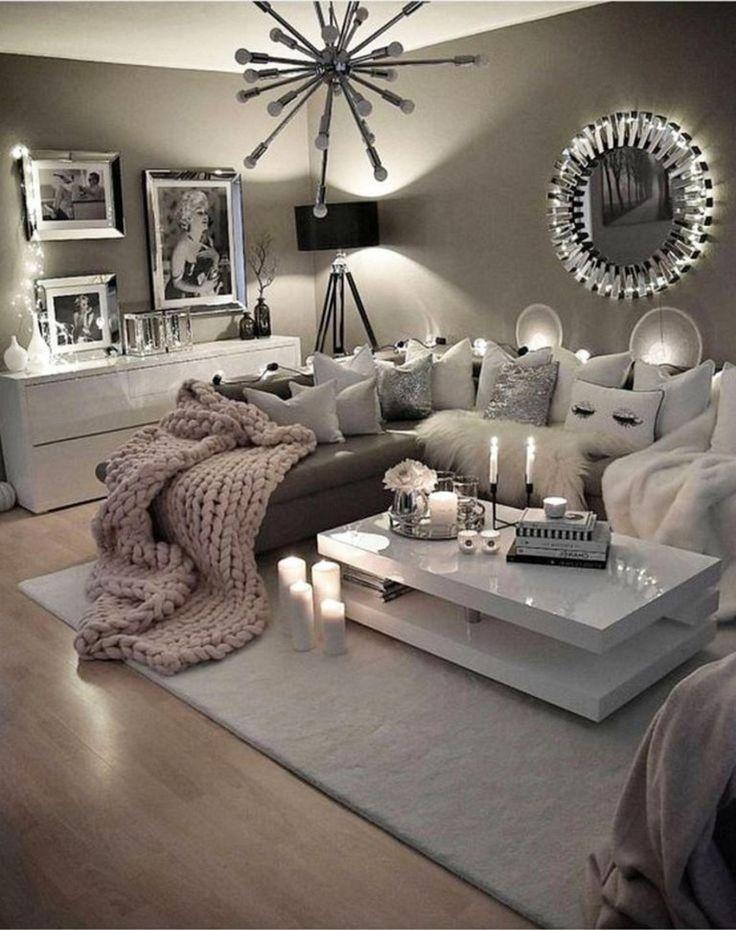 82 beautiful grey living room ideas decorations 28 on modern cozy bedroom decorating ideas id=25541