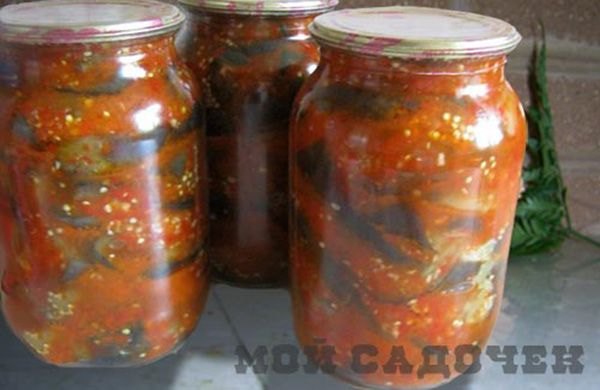 Баклажаны на зиму «тещин язык» http://mysadzagotovci.ru/baklazhany-teshhin-yazyk/  Баклажан, один из самых популярных овощей. Поэтому, чтобы в зимнее время можно было наслаждаться его вкусом, следует сделать максимум разнообразных заготовок из баклажанов на зиму. Предлагаем рецепт острой закуски из баклажанов «тещин язык». Если вы любите более острое, то добавьте больше чеснока и острого перца, но не переборщите!  Состав: баклажаны 5-6 кг, помидоры 4 […]
