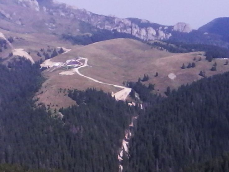 Cabana Ciucaș over there
