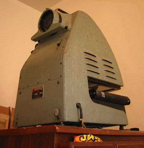 antique opaque projector by davegraphics, via Flickr