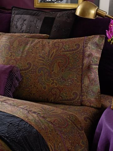 New Bohemian Paisley Sheeting - Lauren Home Printed Sheets & Pillowcases - RalphLauren.com
