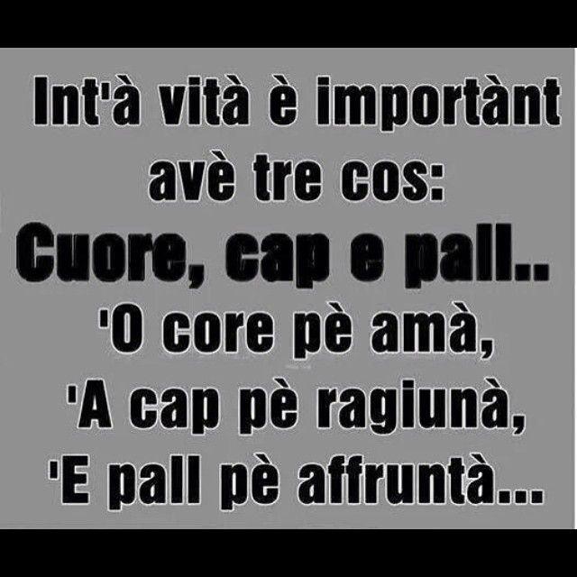 ☝️#frasinapoletane #napoletano #dialetto #napoli #dialetti #dialettonapoletano #frasi #proverbi