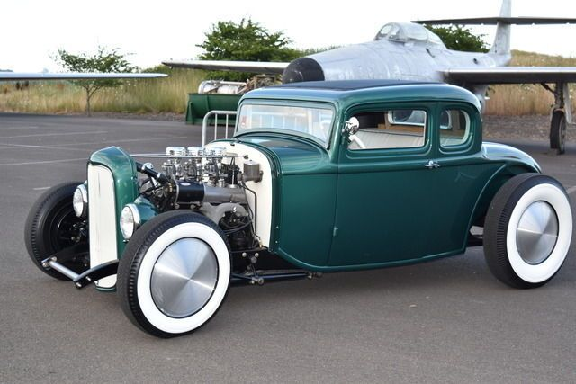 1932 32 FORD COUPE CHOPPED CHANNELED STEEL REAL DEAL HOT ROD RAT SCTA LAKES 34 for sale: photos, technical specifications, description