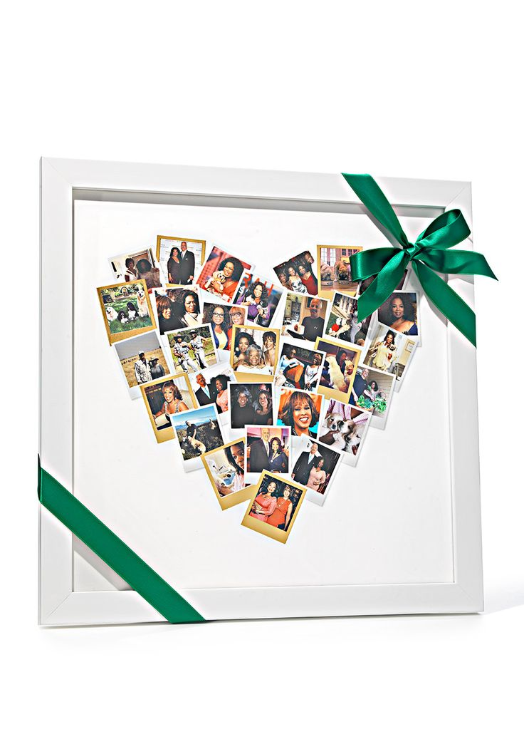 Heart Snapshot Mix Photo Art || Double-click to see the other 72 picks for Oprah's Favorite Things 2014!