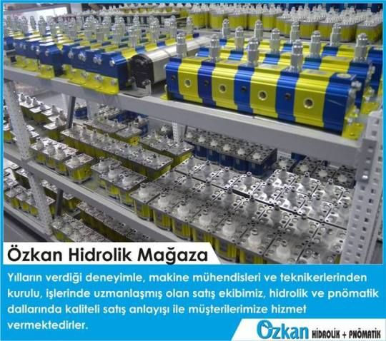 Our sales team which is full of mechanical engineers and technicians who are experted on hydraulics and pneumatics is giving you a professional service with the sense of high quality and confidence.    Özkan Hidrolik  www.ozkanhidrolik.com.tr