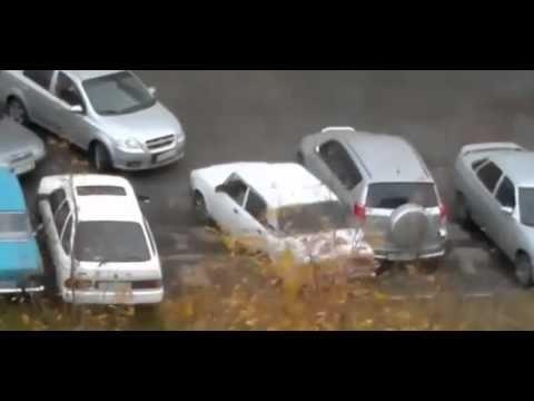 Parkta Önü kapalı Arabanın Çıkarılmasını Pratik Yolu!!