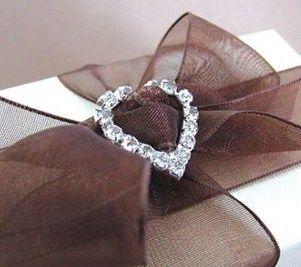 Mini Heart Diamante Buckle