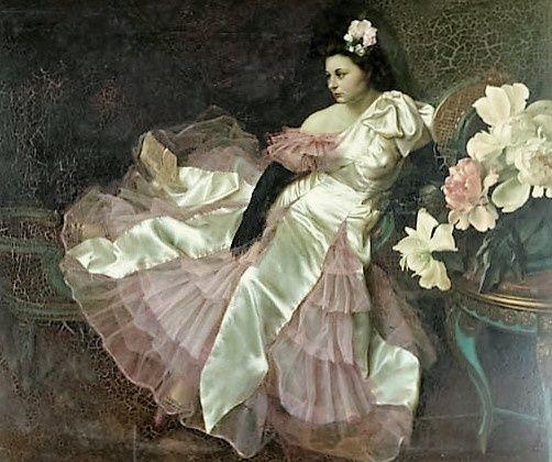 La Dame aux Camélias. (Tchistovsky Lev)
