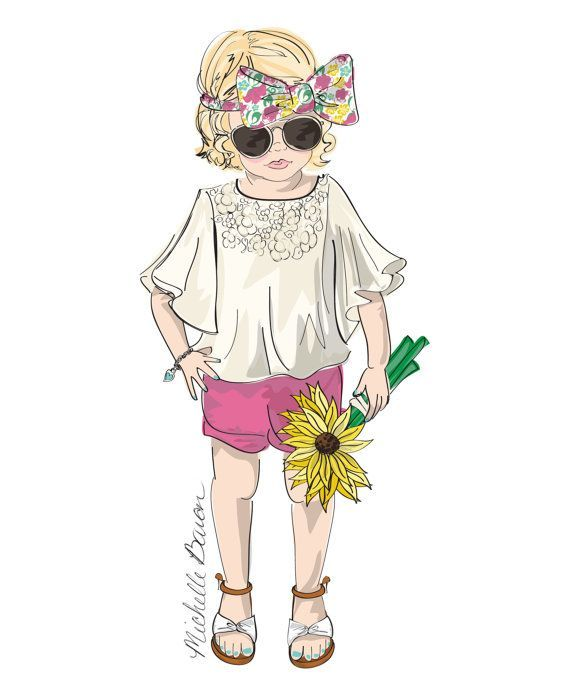 Boyswear Illustration Fashion Model