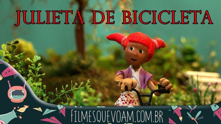 Julieta de Bicicleta [Filme Infantil Completo] - HD 1080p